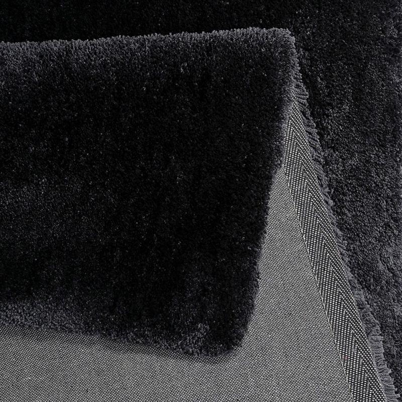 tapis relaxx shaggy gris charbon esprit 80x150. Black Bedroom Furniture Sets. Home Design Ideas