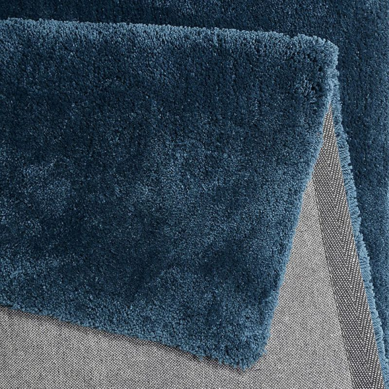 tapis shaggy relaxx bleu turquoise esprit 70x140. Black Bedroom Furniture Sets. Home Design Ideas