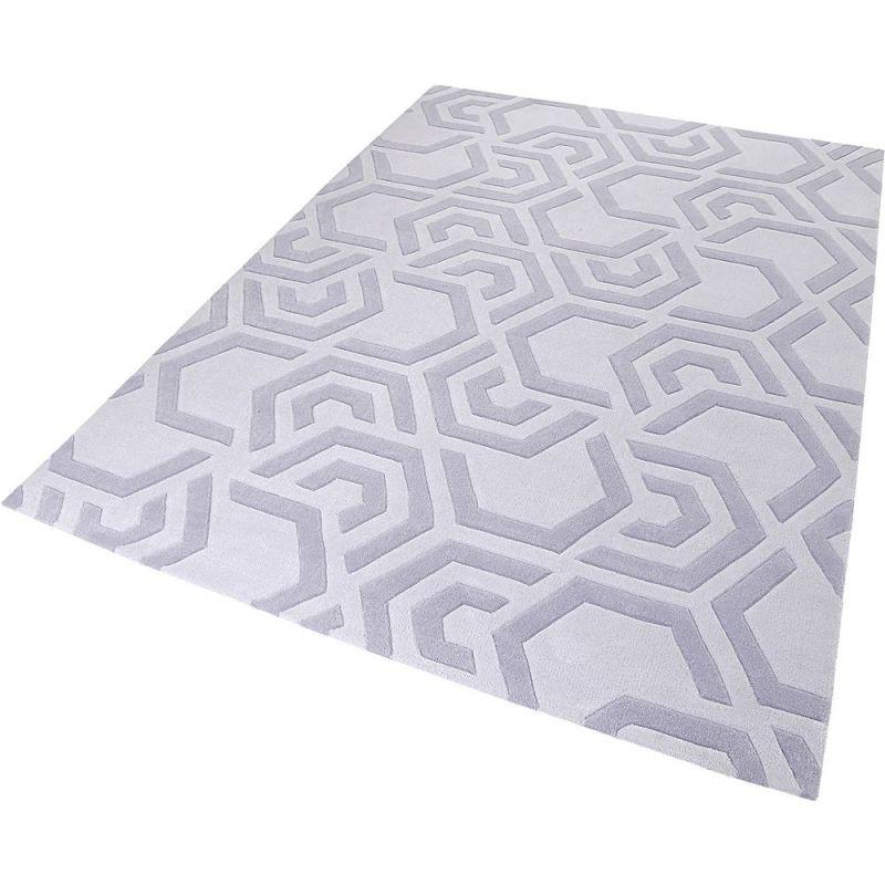 tapis moderne casino beige esprit 70x140. Black Bedroom Furniture Sets. Home Design Ideas