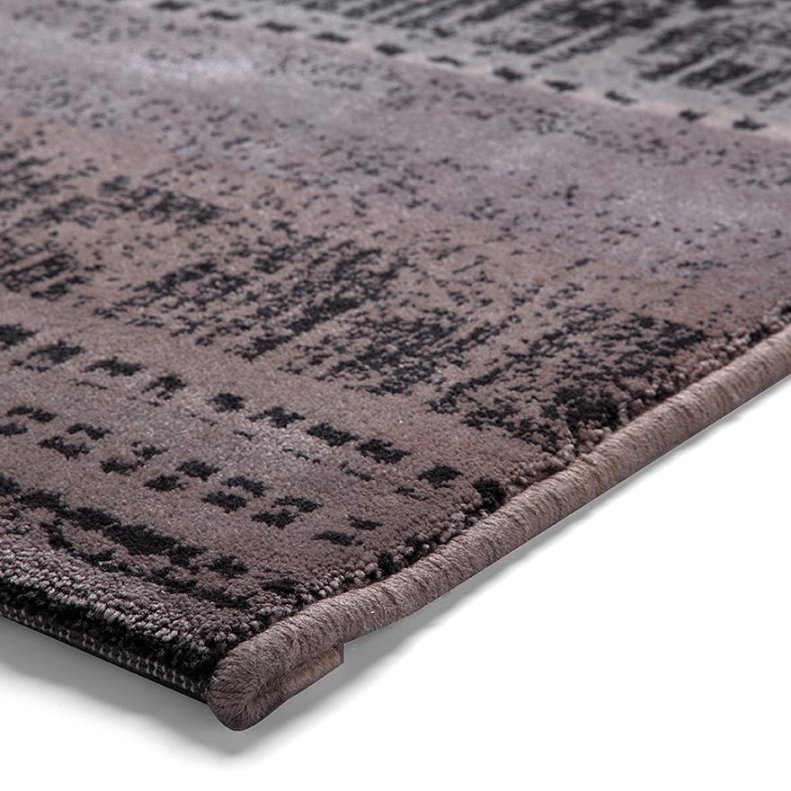 tapis graphic edge taupe esprit home 120x180
