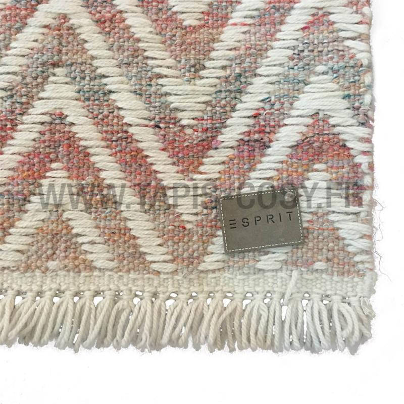 tapis esprit home en laine misty brun 160x230. Black Bedroom Furniture Sets. Home Design Ideas