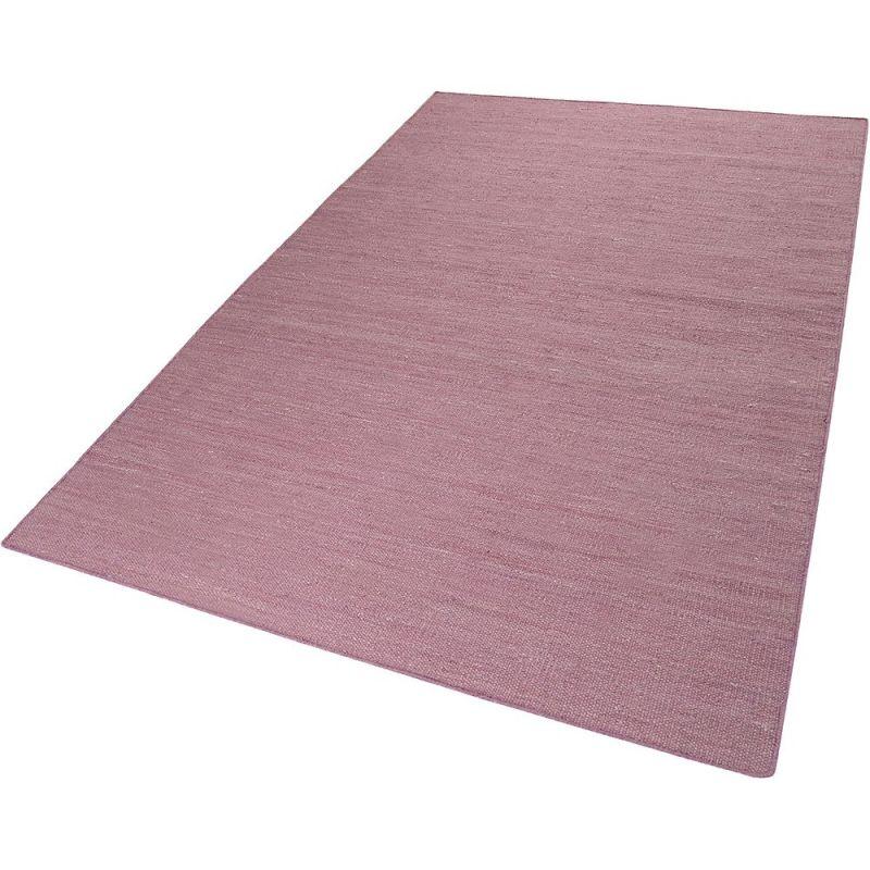 tapis kelim rainbow kelim vieux rose esprit 60x110. Black Bedroom Furniture Sets. Home Design Ideas