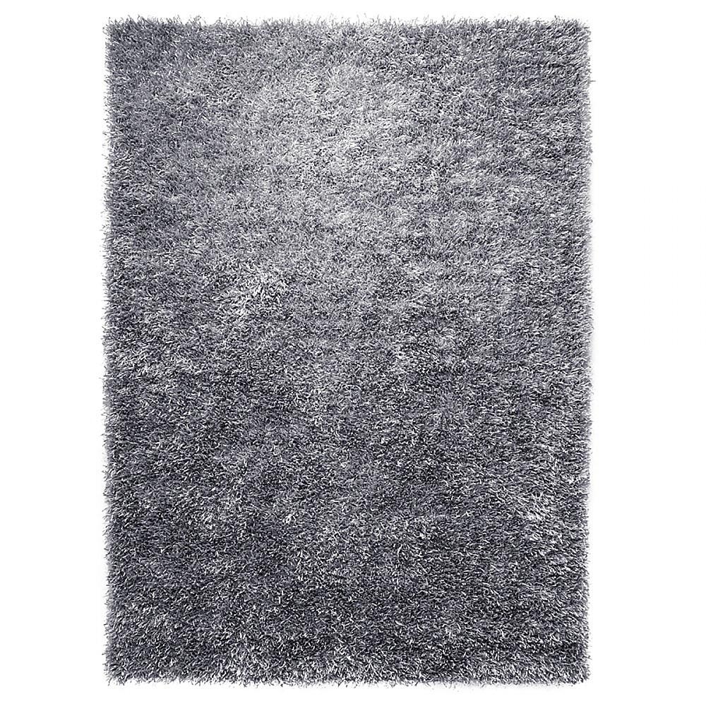 tapis shaggy gris cool glamour esprit home 120x180. Black Bedroom Furniture Sets. Home Design Ideas