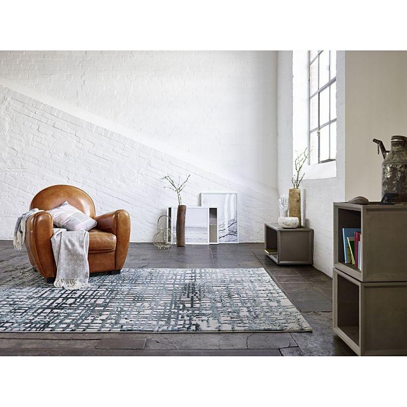 Tapis Moderne Velvet Grid Beige Esprit 80x150