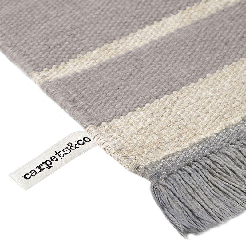tapis gris et blanc moderne skid marks carpets co 160x230. Black Bedroom Furniture Sets. Home Design Ideas