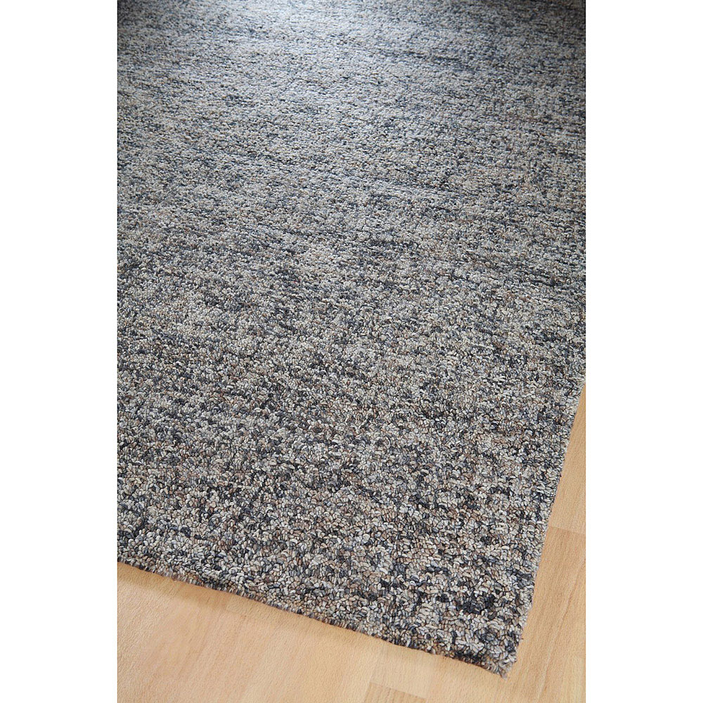 tapis en laine gris chin home spirit lucy 200x300. Black Bedroom Furniture Sets. Home Design Ideas