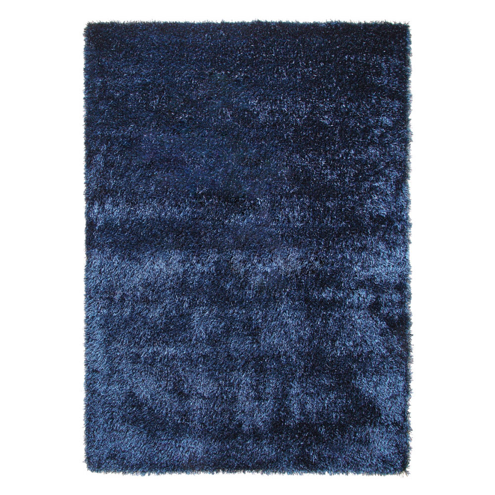 tapis moderne new glamour bleu esprit home 70x140. Black Bedroom Furniture Sets. Home Design Ideas