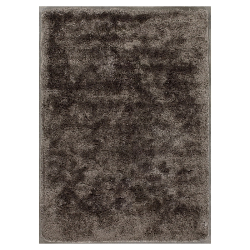 tapis shaggy taupe bergamo tiss main angelo 170x240. Black Bedroom Furniture Sets. Home Design Ideas