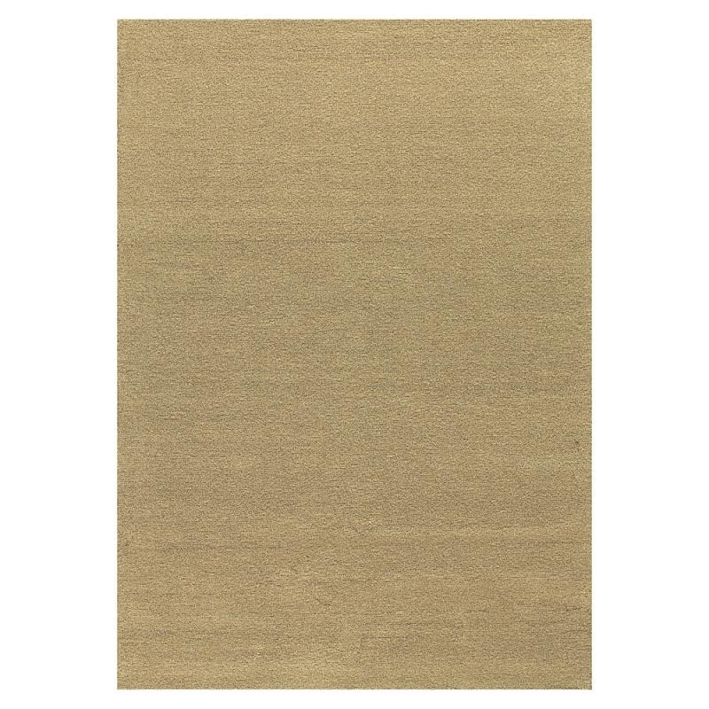 tapis moderne tuft main flax marron angelo 200x300. Black Bedroom Furniture Sets. Home Design Ideas