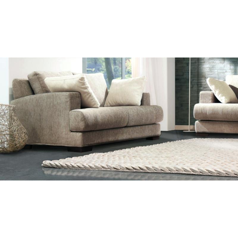 tapis en laine highland blanc angelo tiss main 140x200. Black Bedroom Furniture Sets. Home Design Ideas