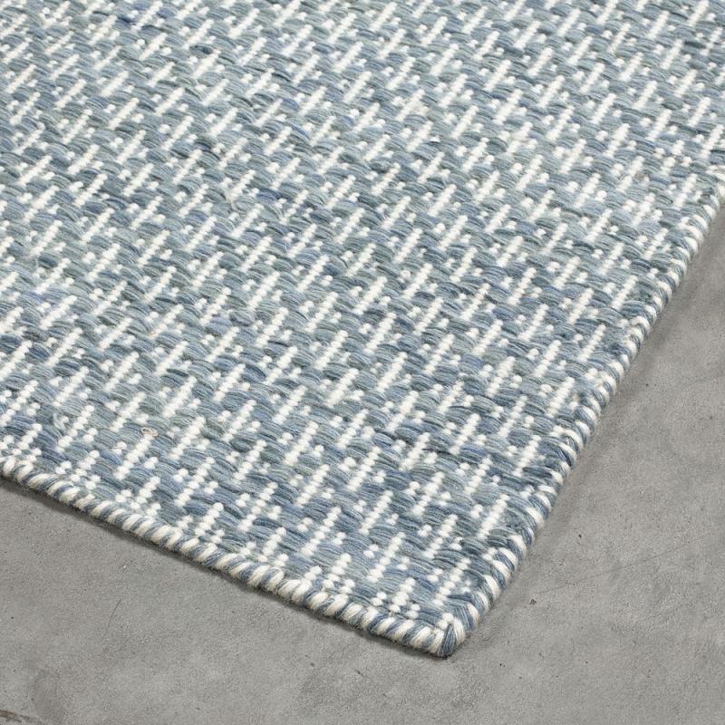 tapis moderne bleu angelo mic mac - Tapis 200x300