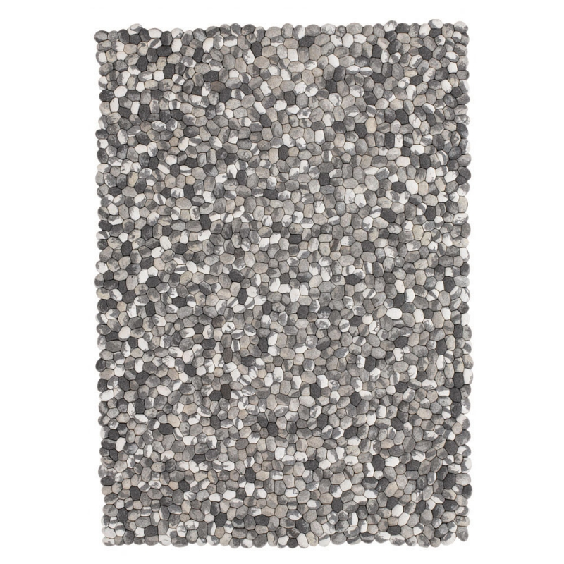 tapis on the rocks en laine gris angelo 200x300. Black Bedroom Furniture Sets. Home Design Ideas