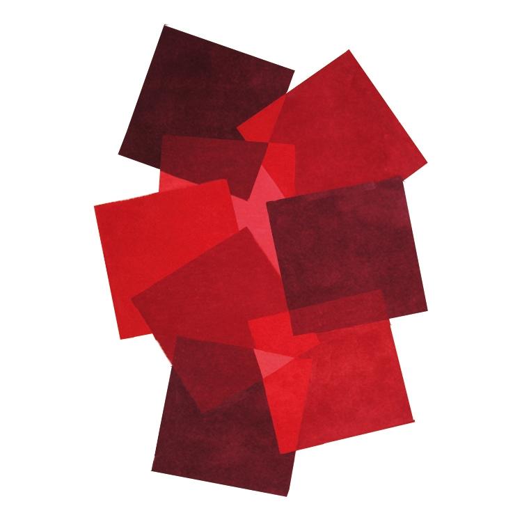 tapis angelo design rouge pebbles 200x300. Black Bedroom Furniture Sets. Home Design Ideas