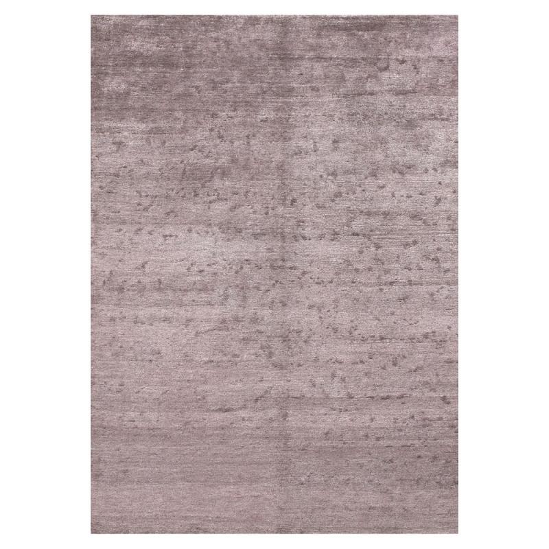 tapis angelo silky lilas en soie de bambou 140x200. Black Bedroom Furniture Sets. Home Design Ideas