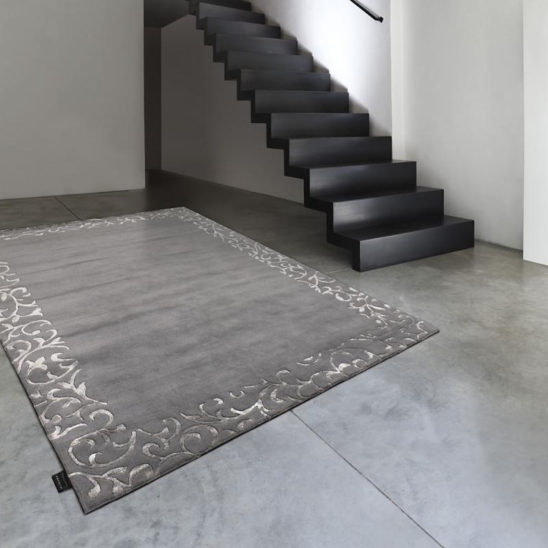 tapis sydney gris fonc angelo - Tapis 200x300