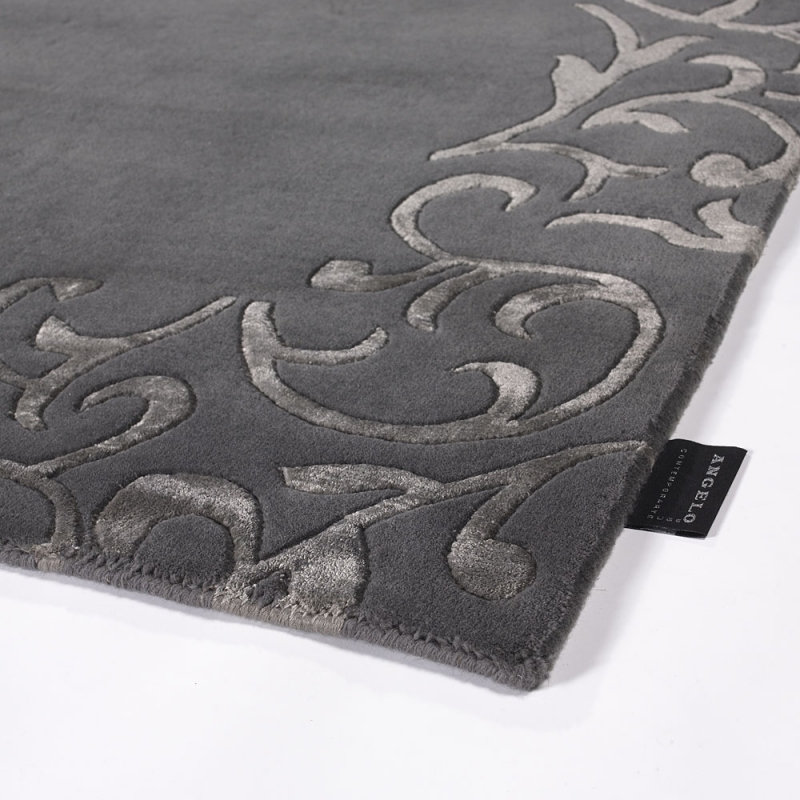 tapis sydney gris fonc angelo 200x300. Black Bedroom Furniture Sets. Home Design Ideas