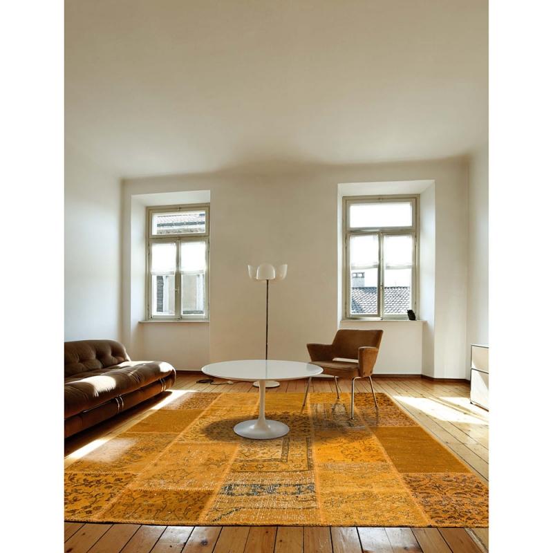 tapis de couloir up cycle jaune angelo 70x250. Black Bedroom Furniture Sets. Home Design Ideas