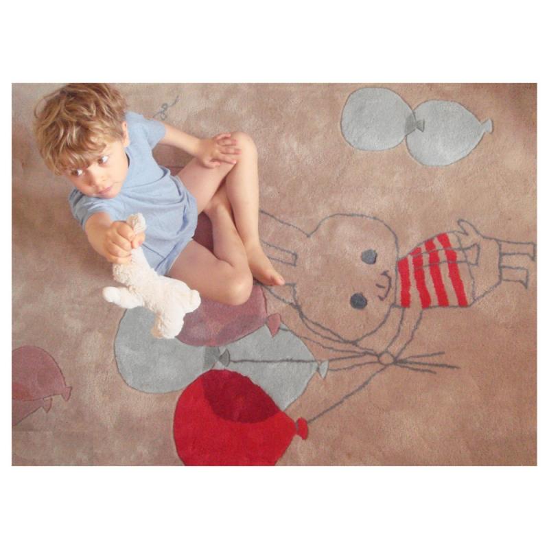 tapis pour enfant art for kids balloon de shinzi katoh 140x200. Black Bedroom Furniture Sets. Home Design Ideas