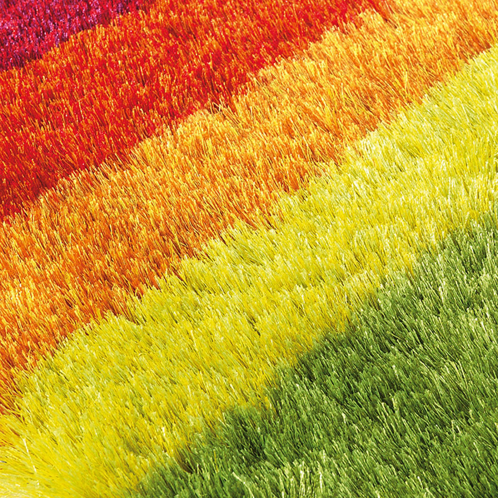 Tapis funky multicolore arte espina shaggy 120x180 - Tapis shaggy multicolore ...