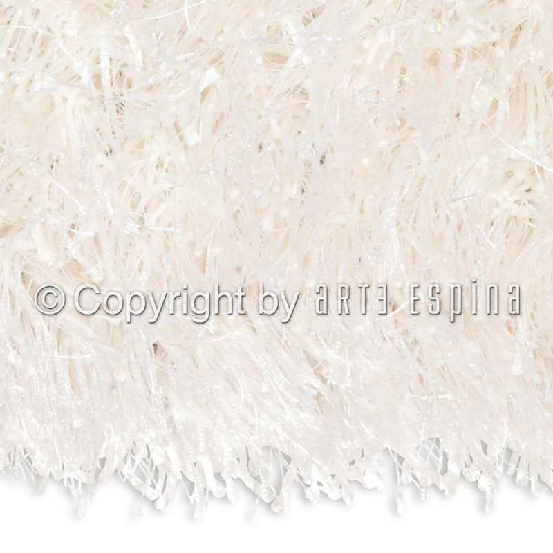 tapis blanc shaggy beat arte espina 140x200. Black Bedroom Furniture Sets. Home Design Ideas