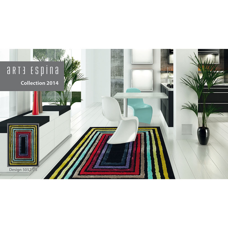 tapis blues arte espina multicolore tuft main 170x240. Black Bedroom Furniture Sets. Home Design Ideas