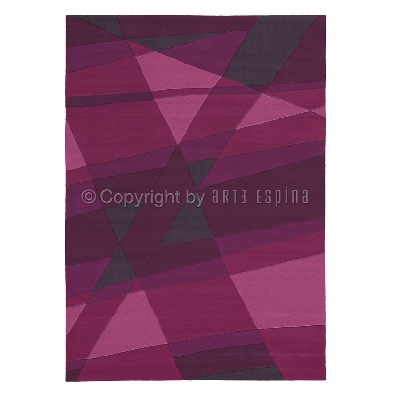 Tapis luminous violet arte espina 120x180 - Tapis gris et violet ...