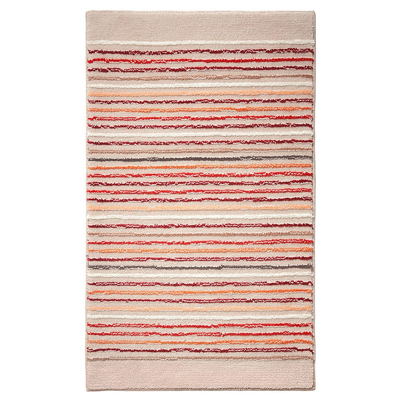 tapis de bain esprit home cool stripes beige 60x100. Black Bedroom Furniture Sets. Home Design Ideas