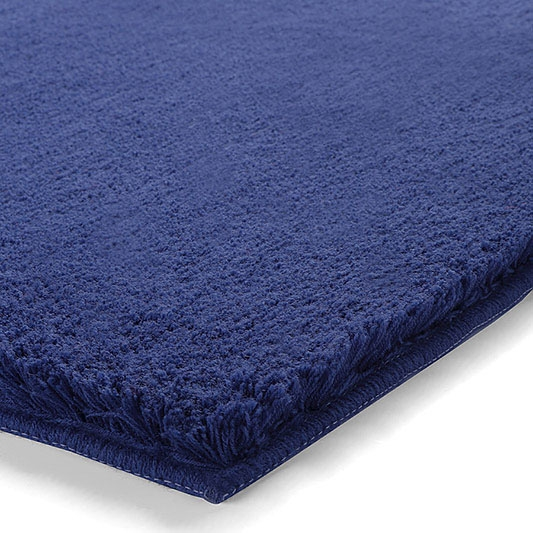 tapis de bain event bleu esprit home 55x65. Black Bedroom Furniture Sets. Home Design Ideas