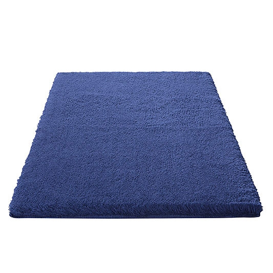 tapis de bain esprit home event bleu 60x100. Black Bedroom Furniture Sets. Home Design Ideas