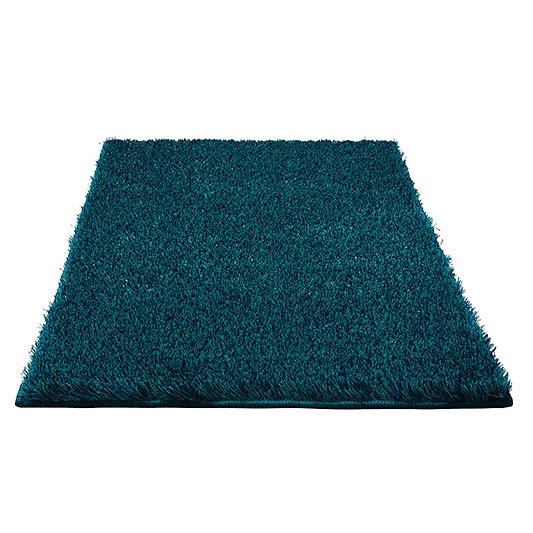 tapis de bain chill esprit home bleu turquoise 70x120. Black Bedroom Furniture Sets. Home Design Ideas