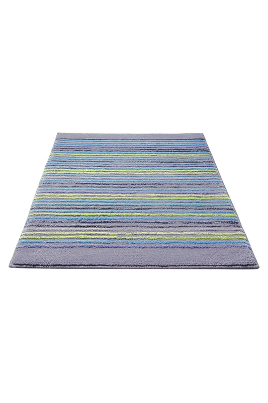 tapis de bain cool stripes gris esprit home 55x65. Black Bedroom Furniture Sets. Home Design Ideas