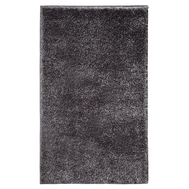 tapis de bain chill esprit home gris 70x120. Black Bedroom Furniture Sets. Home Design Ideas