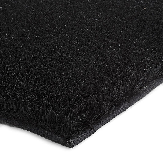 tapis de bain chill noir esprit home 55x65. Black Bedroom Furniture Sets. Home Design Ideas