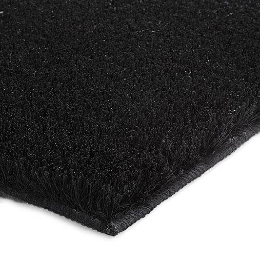 tapis de bain chill esprit home noir 70x120. Black Bedroom Furniture Sets. Home Design Ideas