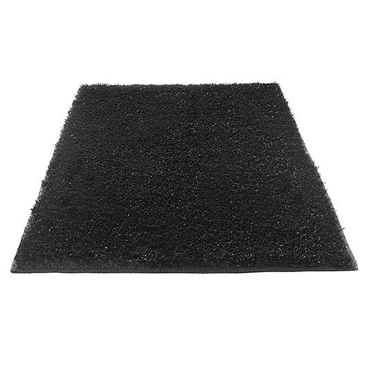 Tapis de bain chill esprit home noir 70x120 for Tapis salle de bain noir