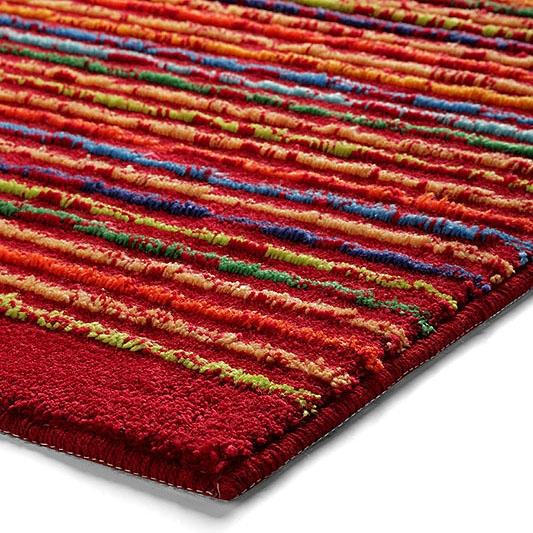 tapis de bain rouge cool stripes esprit home 70x120. Black Bedroom Furniture Sets. Home Design Ideas