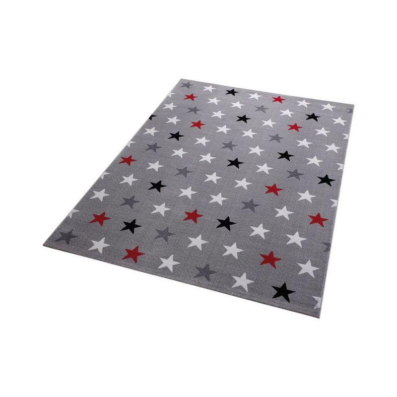 tapis gris starry sky moderne wecon 200x290. Black Bedroom Furniture Sets. Home Design Ideas