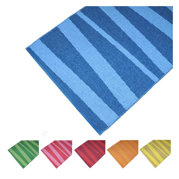 tapis de couloir z br bleu aresofie sjostrom design 70x200. Black Bedroom Furniture Sets. Home Design Ideas