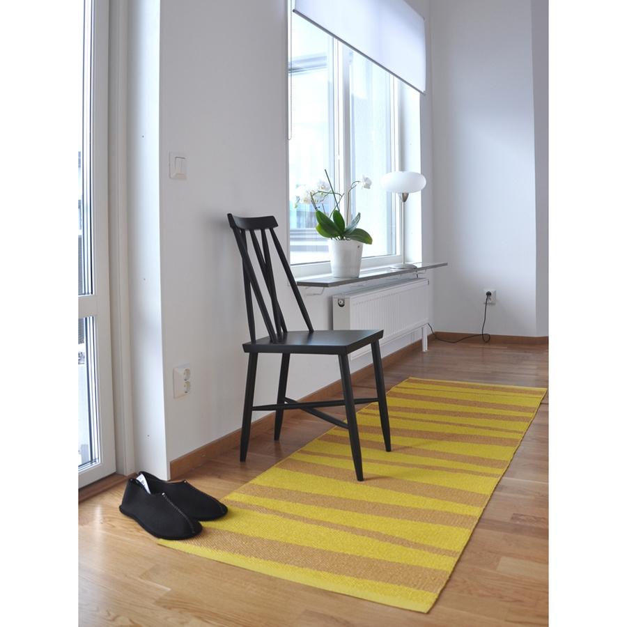 tapis de couloir ray ocre et jaune are sofie sjostrom design 70x100. Black Bedroom Furniture Sets. Home Design Ideas