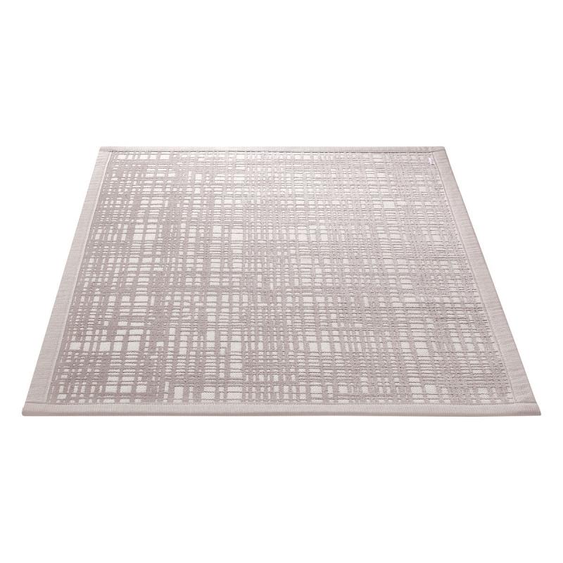tapis de bain beige esprit home graficule 70x100. Black Bedroom Furniture Sets. Home Design Ideas