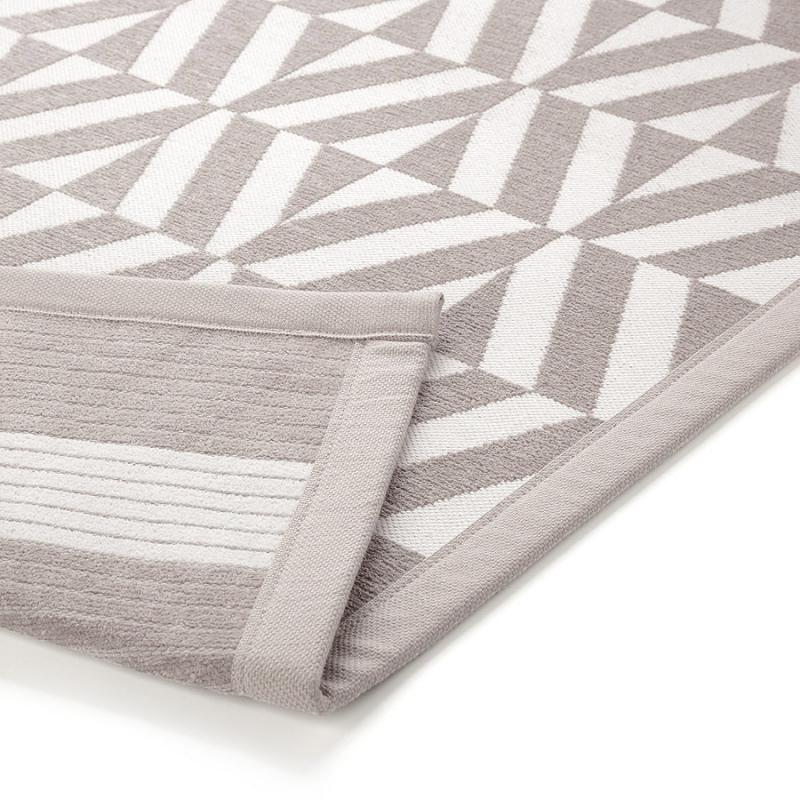 tapis de bain beige kaleidoscope esprit home 53x65. Black Bedroom Furniture Sets. Home Design Ideas