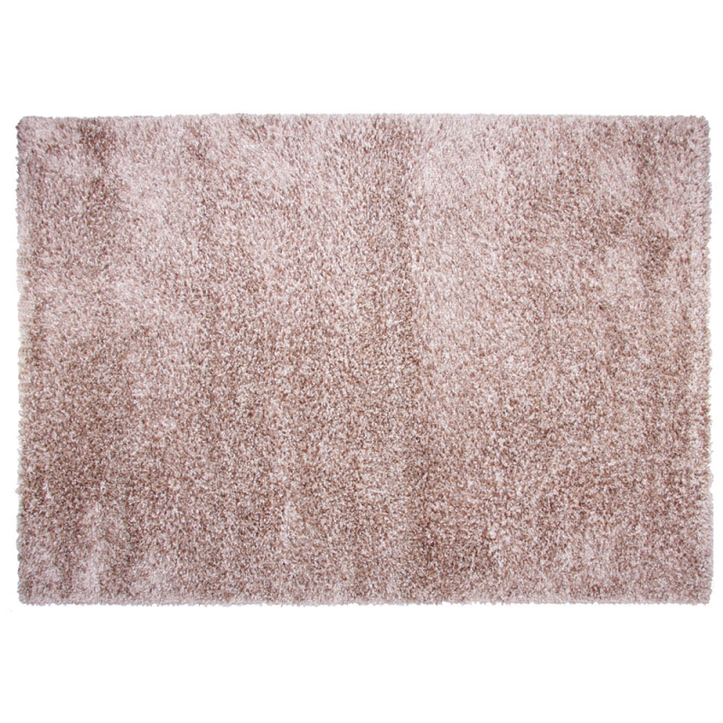 tapis shaggy fait main chocolat brooklyn 160x230. Black Bedroom Furniture Sets. Home Design Ideas