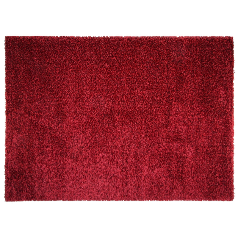 Tapis shaggy fait main brooklyn rouge 120x170 - Tapis shaggy 120x170 ...