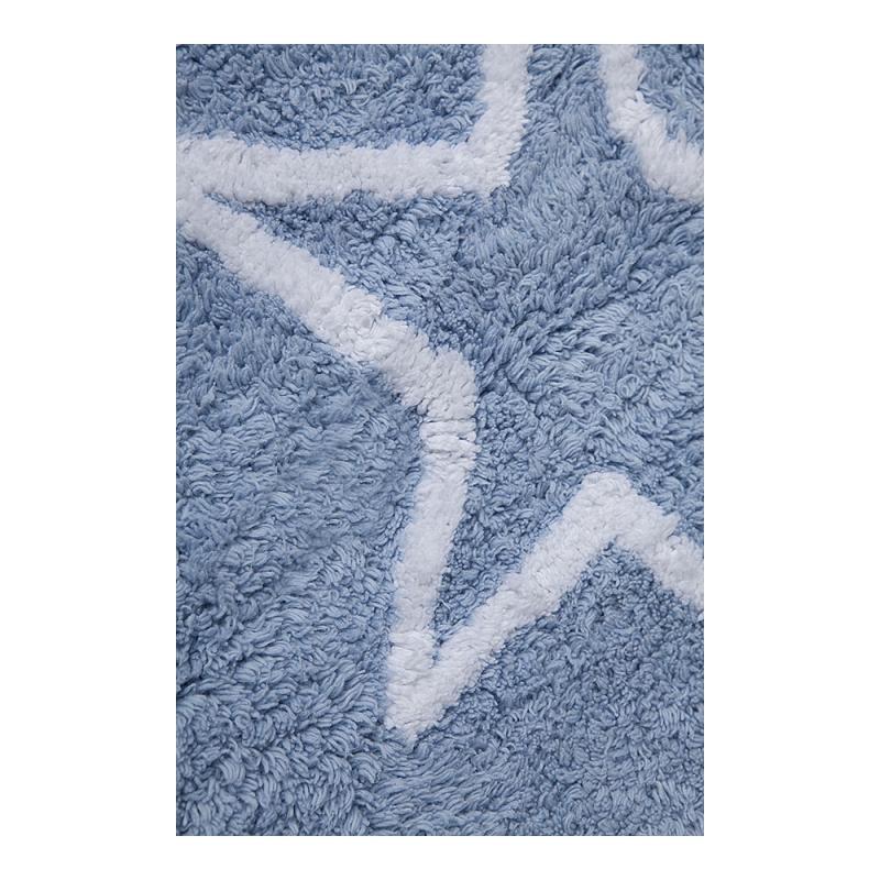 tapis enfant estrellas bleu lorena canals 120x160. Black Bedroom Furniture Sets. Home Design Ideas