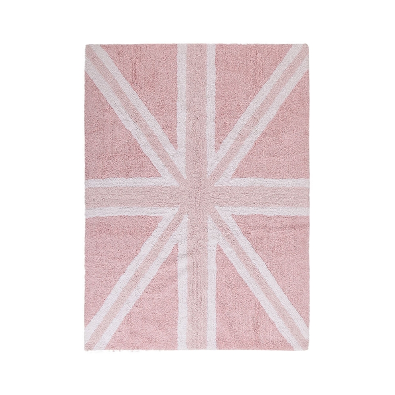 tapis enfant flag england baby rose lorena canals 120x160. Black Bedroom Furniture Sets. Home Design Ideas