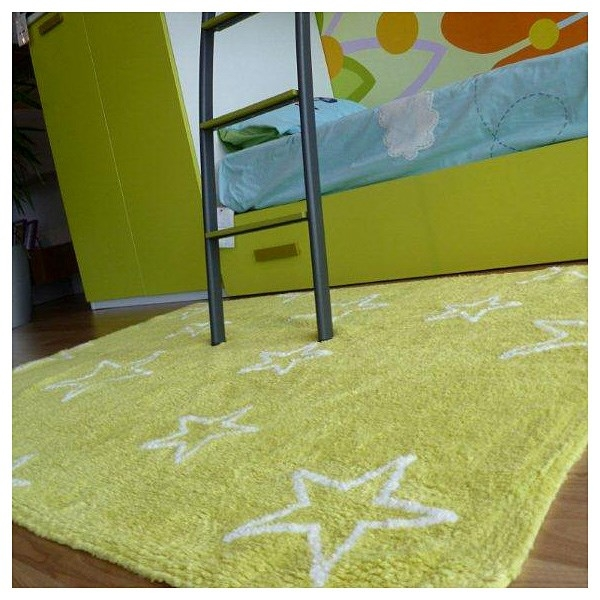tapis enfant estrellas vert lorena canals 120x160. Black Bedroom Furniture Sets. Home Design Ideas