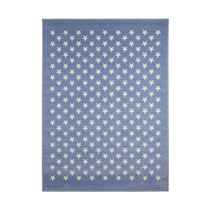 tapis enfant estrellitas bleu lorena canals 120x160. Black Bedroom Furniture Sets. Home Design Ideas