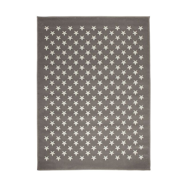 tapis enfant gris lorena canals estrellitas 200x300. Black Bedroom Furniture Sets. Home Design Ideas