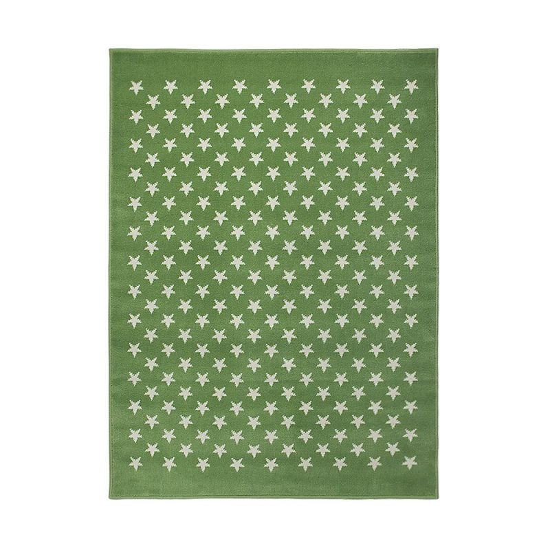 tapis enfant vert lorena canals estrellitas 140x200. Black Bedroom Furniture Sets. Home Design Ideas