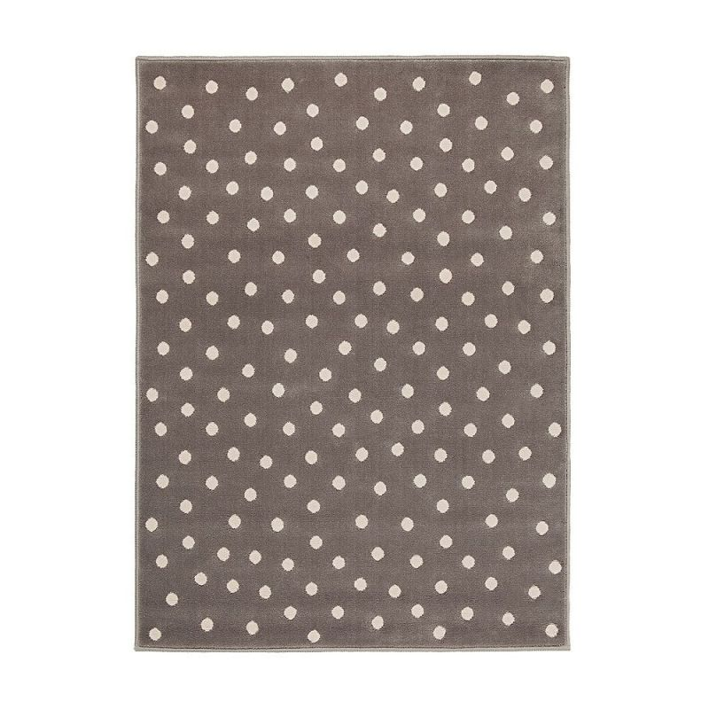 tapis enfant dot gris et rose lorena canals 120x160. Black Bedroom Furniture Sets. Home Design Ideas